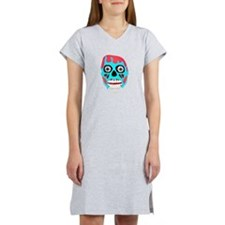 Scary Monster Face Women's Nightshirt