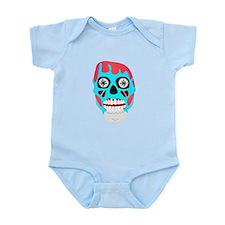 Scary Monster Face Infant Bodysuit