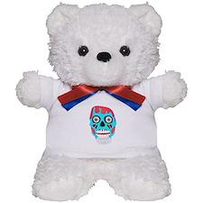 Scary Monster Face Teddy Bear