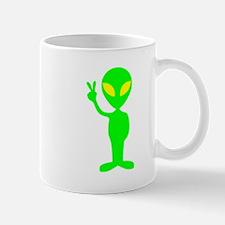 Green Peace Alien Mug