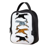 Group O' Shelties Neoprene Lunch Bag