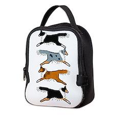 Group O' Shelties Neoprene Lunch Bag