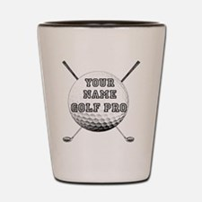 Custom Golf Pro Shot Glass
