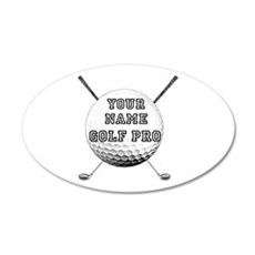 Custom Golf Pro Wall Decal