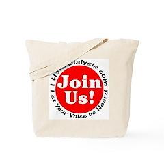 I Hate Dialysis 02 Tote Bag