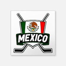 Mexico Ice Hockey Shield Sticker