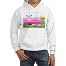 camper travel trailer camping queen Hoodie