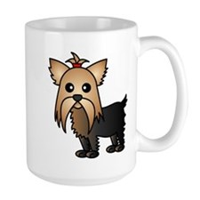 Cute Yorkshire Terrier Dog Mug