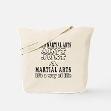 Mixed Martial Arts Designs Tote Bag