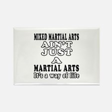 Mixed Martial Arts Designs Rectangle Magnet