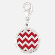 Chevron Red Charms