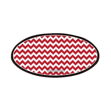 Chevron Red Patches