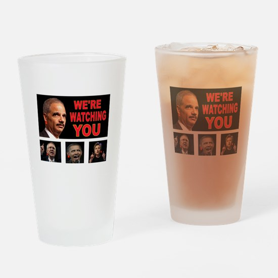 DEMS WATCHING Drinking Glass