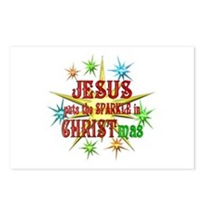Jesus Christmas Postcards (Package of 8)