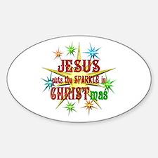 Jesus Christmas Decal