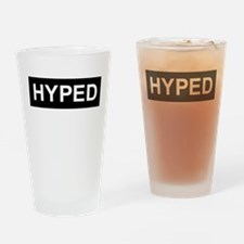 HYPED Drinking Glass