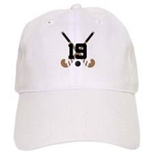 Field Hockey Number 19 Baseball Cap