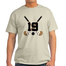 Field Hockey Number 19 T-Shirt