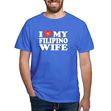 I Love my Filipino Wife T-Shirt