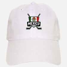 Mexico Ice Hockey Shield Baseball Baseball Baseball Cap