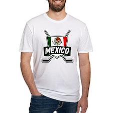 Mexico Ice Hockey Shield T-Shirt