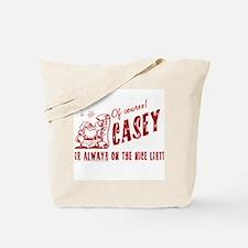 Nice List Casey Christmas Tote Bag