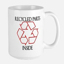 Recycled Parts Inside Mug