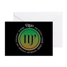 Virgo Greeting Cards (Pk of 10)