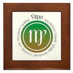 Virgo Framed Tile
