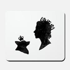 Queen and Corgi - Mousepad