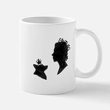 Queen and Corgi - Mug