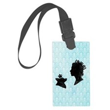 Queen and Corgi - Luggage Tag
