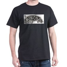 HashFish - On-On - BW T-Shirt