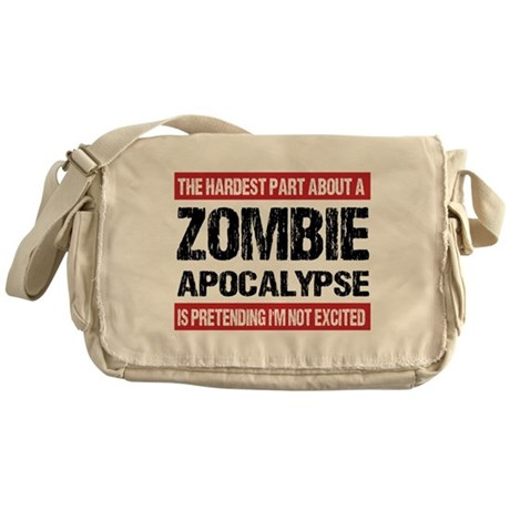 Zombie Messenger Bags