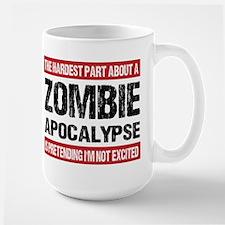 ZOMBIE APOCALYPSE - The hardest part Mug
