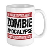 Zombie Large Mugs (15 oz)