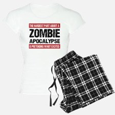 ZOMBIE APOCALYPSE - The hardest part Pajamas