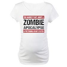 ZOMBIE APOCALYPSE - The hardest part Shirt