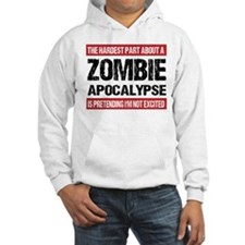 ZOMBIE APOCALYPSE - The hardest part Hoodie