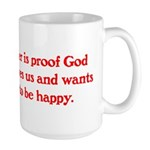 Ben Franklin Beer Quote.psd Mug