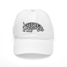 HashFish - Hasher - BW Baseball Baseball Cap