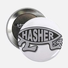 "HashFish - Hasher - BW 2.25"" Button"
