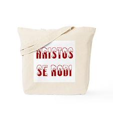 Hristos Se Rodi Tote Bag