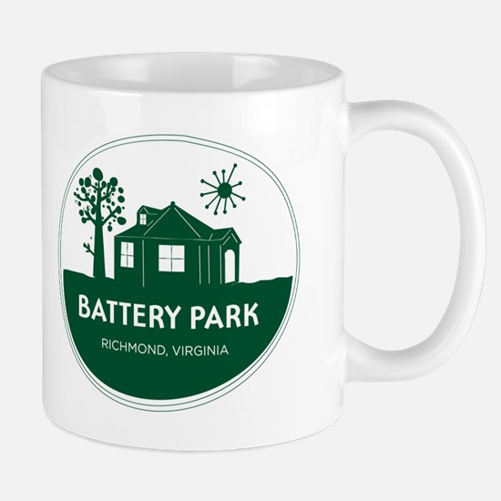 Battery Park Richmond Virginia Mug
