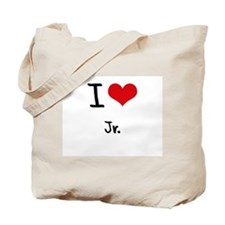 I Love Jr. Tote Bag