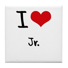 I Love Jr. Tile Coaster