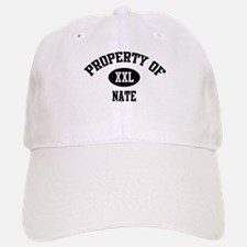 Property of Nate Baseball Baseball Cap