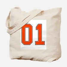 01 General Lee Dukes of Hazzard Car number Tote Ba