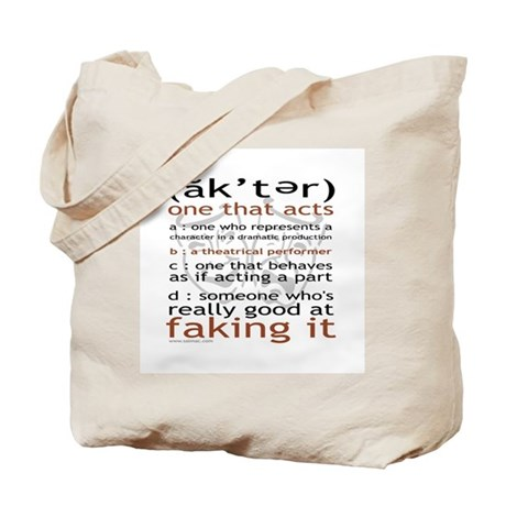 Actor (ak'ter) Meaning Tote Bag