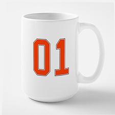 01 General Lee Dukes of Hazzard Car number Mug